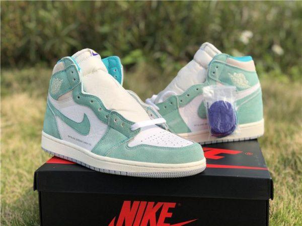 2019 New Air Jordan 1 High OG Turbo Green shoes