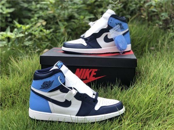 Jordan 1 UNC Obsidian 555088-140 sneaker