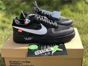 Nike The 10 Off-White Air Force 1 Low Black