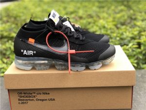 Off-White x Nike Air VaporMax Black 2018