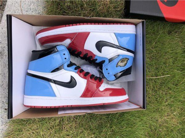 Air Jordan 1 High OG Fearless in box