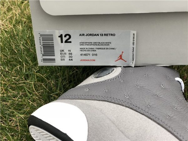 Air Jordan 13 Atmosphere Grey 414571-016 release info