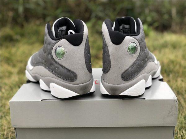 Air Jordan 13 Atmosphere Grey heel