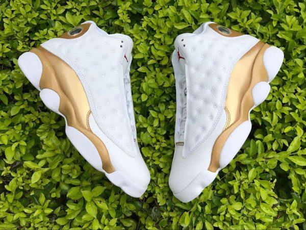 Air Jordan 13 DMP Finals Pack White Gold sneaker