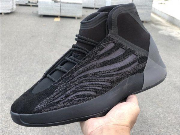 All Black adidas Yeezy Basketball EG1536