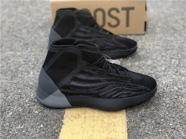 All Black adidas Yeezy Basketball EG1536 panel