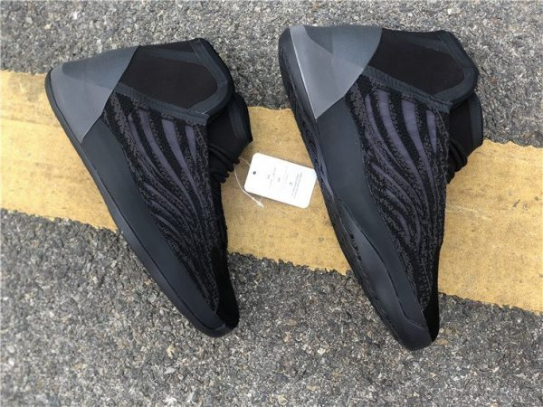 All Black adidas Yeezy Basketball EG1536 panels