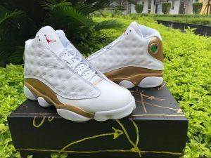 Jordan 13 Retro DMP WhiteMetallic Gold