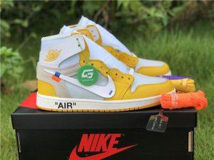 Off-White Air Jordan 1 Yellow