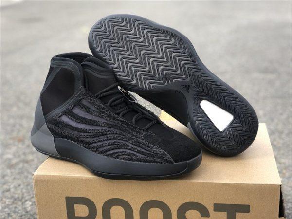 adidas Yeezy Basketball Triple Black sneaker