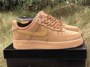 2019 Nike Air Force 1 Wheat Flax