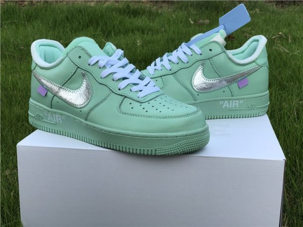 Air Force 1 Low X Off-White Green shoes