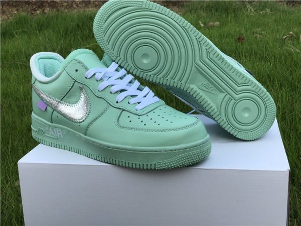 Air Force 1 Low X Off-White Green sneaker