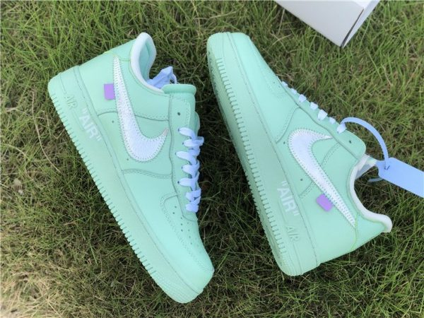Air Force 1 Low X Off-White Green swoosh