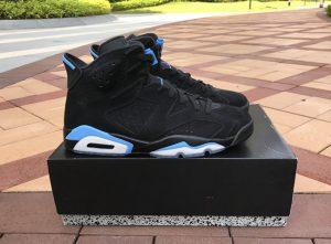 Air Jordan 6 Black University Blue UNC