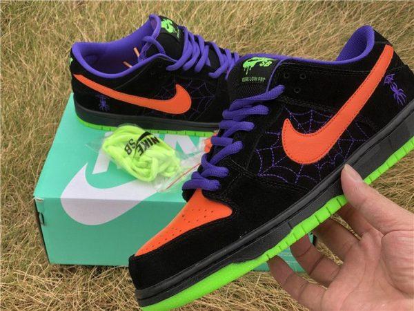 BUY Nike SB Dunk Low Night of Mischief Court Purple Orange