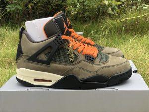 Jordan 4 IV Retro UNDFTD Undefeated Olive Green