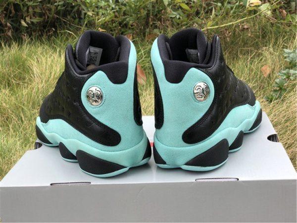 New Air Jordan 13 Island Green heel