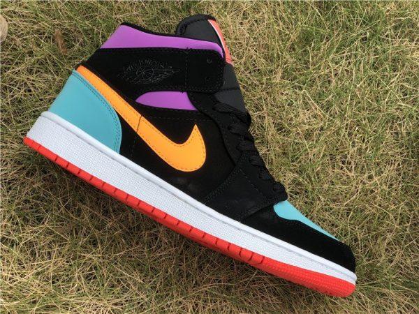 Nike Air Jordan 1 Mid orange