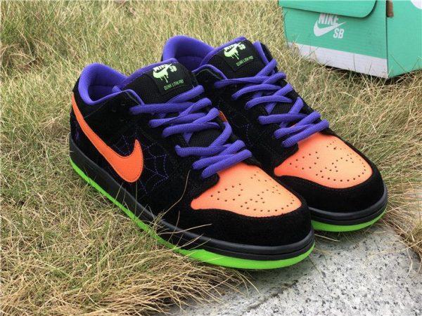 Nike SB Dunk Low Night of Mischief Black Orange