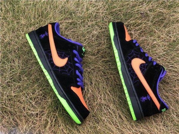 Nike SB Dunk Low Night of Mischief Black Orange for sale