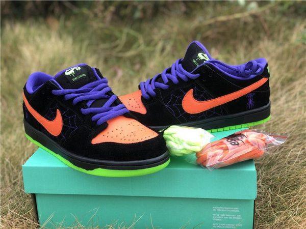 Nike SB Dunk Low Night of Mischief Court Purple Orange