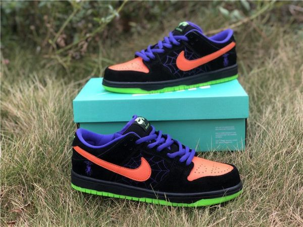 Nike SB Dunk Low Night of Mischief Trick Treat shoes