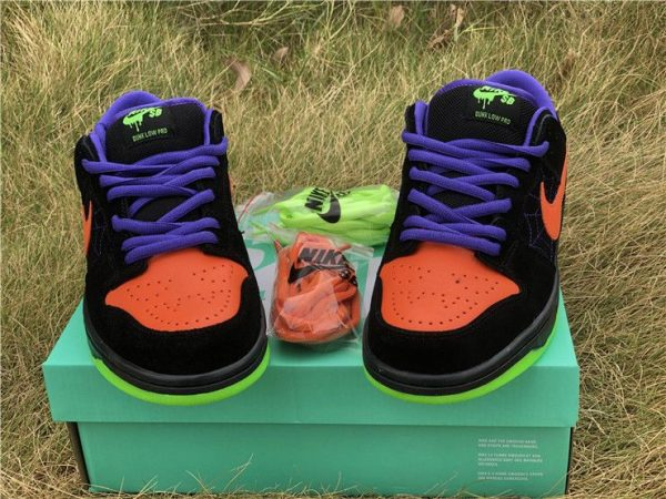 Nike SB Dunk Low Night of Mischief ornage upper