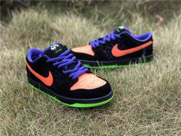 Nike SB Dunk Low Night of Mischief shoes