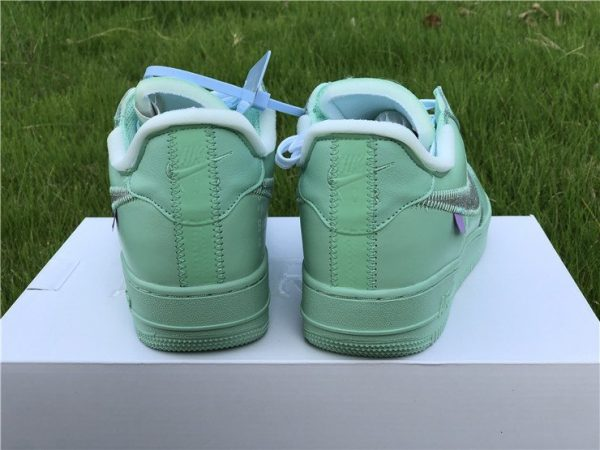 Off-White Air Force 1 Low Green heel