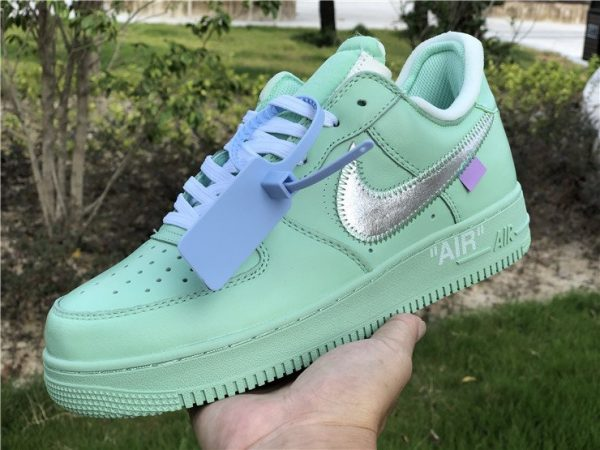 Off-White Air Force 1 Low Green panel