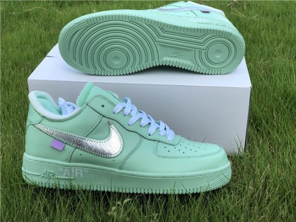 Off-White Air Force 1 Low Green shoes