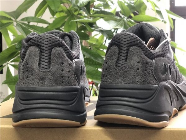 adidas Yeezy Boost 700 Utility Black heel look