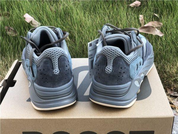 Adidas Yeezy Boost 700 Teal Blue heel