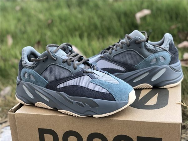 Adidas Yeezy Boost 700 Teal Blue panel