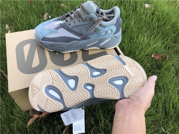 Adidas Yeezy Boost 700 Teal Blue sole