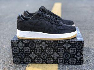 Fragment CLOT Nike Air Force 1 Black