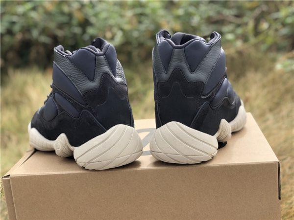 Yeezy 500 High Slate Adidas heel