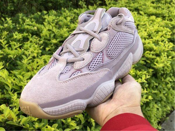 adidas Yeezy 500 Soft Vision on hand
