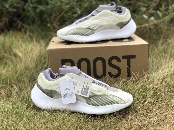 adidas Yeezy 700 V3 White Grey Green 2019