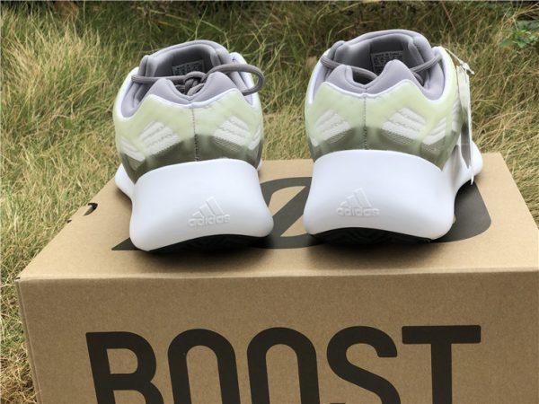 adidas Yeezy 700 V3 White Grey Green heel