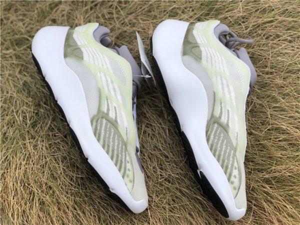 adidas Yeezy 700 V3 White Grey Green panels