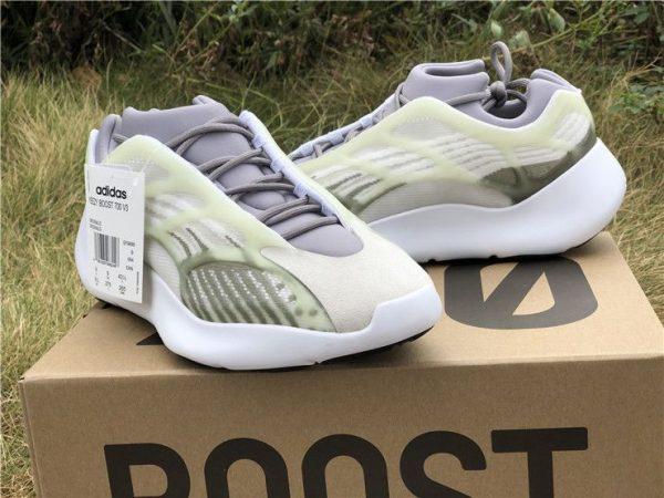 adidas Yeezy 700 V3 White Grey Green trainer