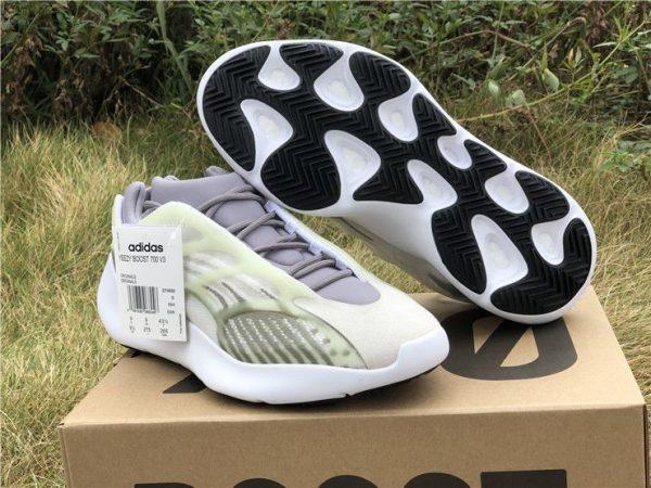 latest adidas Yeezy 700 V3 White Grey Green