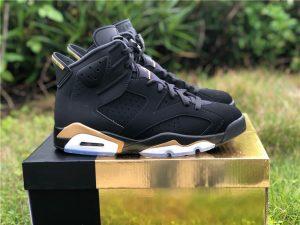 Air Jordan 6 DMP Black Metallic Gold CT4594-007