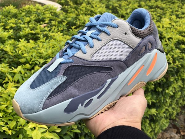 adidas Yeezy Boost 700 Carbon Blue on hand