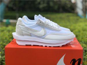 Nike LDWaffle x Sacai White Nylon