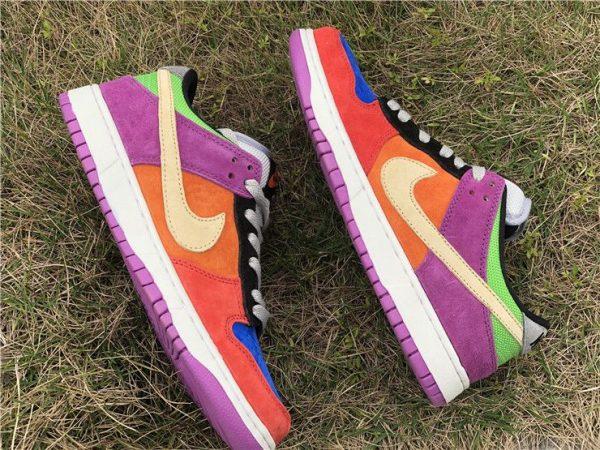 2019 Nike Dunk Low Viotech gold swoosh