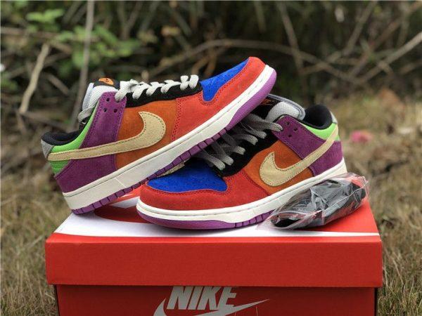 2019 Nike Dunk Low Viotech shoelace