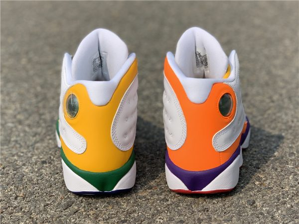 Air Jordan 13 Playground both heel